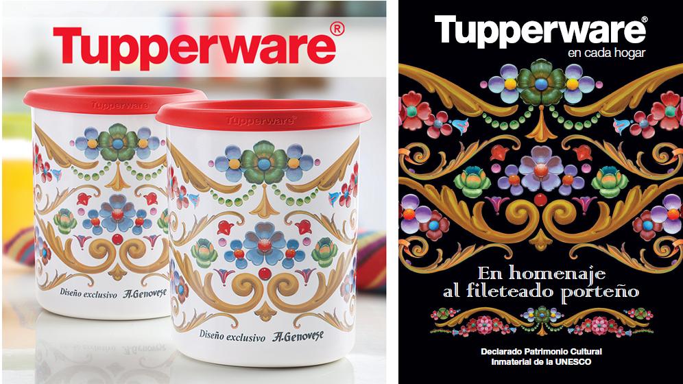 Tupperware-Fileteado